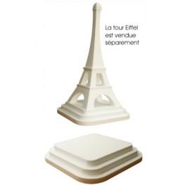 Socle en polystyrène pour la tour eiffel