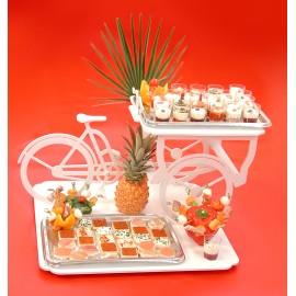 présentoir à gâteaux triporteur
