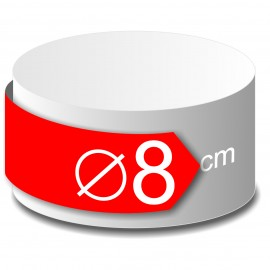 rond polystyrène diamètre 8 cm
