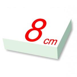 carré polystyrène 8 cm de côté