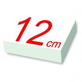 carré polystyrène 12 cm de côté