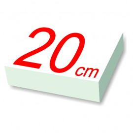 carré polystyrène 20 cm de côté