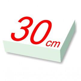 carré polystyrène 30 cm de côté