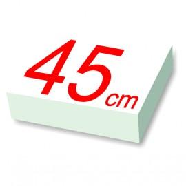 carré polystyrène 45 cm de côté