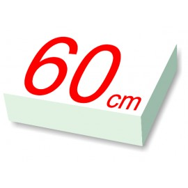 rond polystyrène diamètre 60 cm