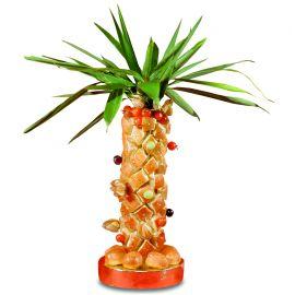 palmier polystyrène hauteur 40 cm et sa base