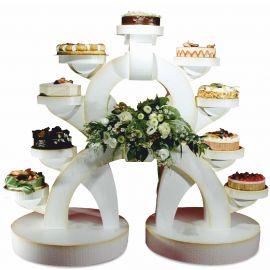 présentoir gâteaux polystyrène alliance