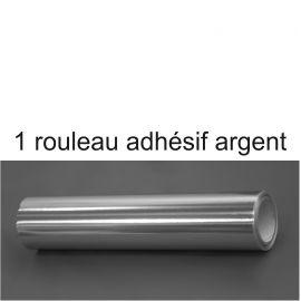 le rouleau d'adhésif argent pour la couverture des socles en polystyrène