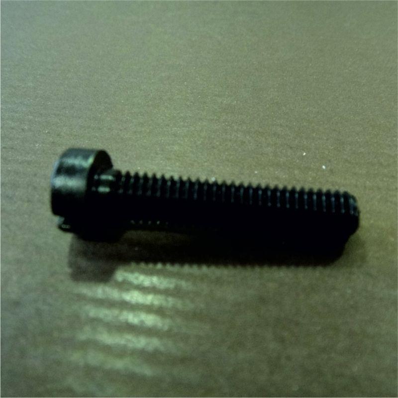 vis plastique noires diam tre 6 mm longueur 3 cm lot de 20. Black Bedroom Furniture Sets. Home Design Ideas