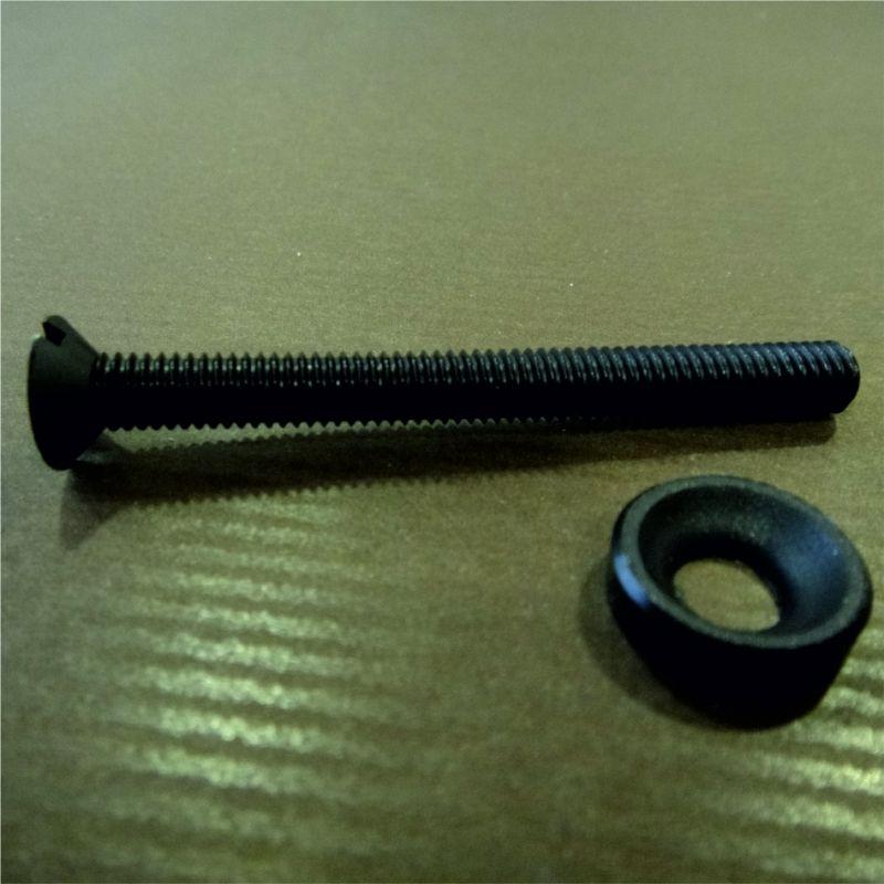 vis plastique noires diam tre 6 mm longueur 6 cm lot de 20. Black Bedroom Furniture Sets. Home Design Ideas