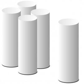- colonnes lisses