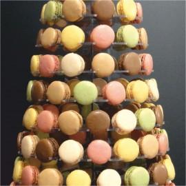 - présentoirs macarons