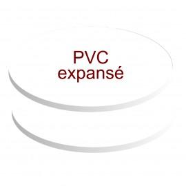 - ovales pvc expansé