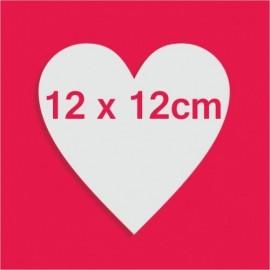 Support bonbons polystyrène coeur pour gateau bonbon 12 x 12cm