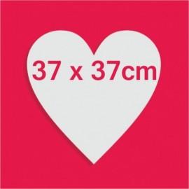 Support bonbons polystyrène coeur pour gateau bonbon 37 x 37cm