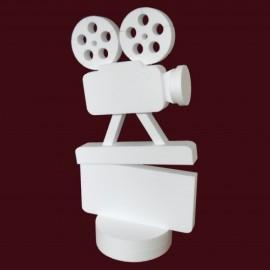 Totem decoration en polystyrène cinema