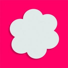Support bonbons polystyrène fleur pour gateau bonbon