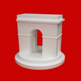 présentoir arc de triomphe en polystyrène