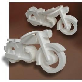 Moto en polystyrène