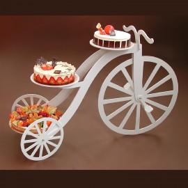 présentoir à gâteaux velocipède en pvc