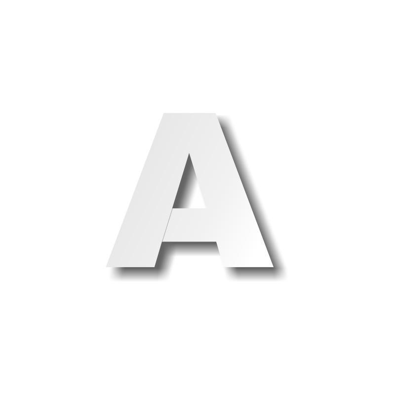 lettre polystyrène A