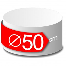 rond polystyrène diamètre 50 cm