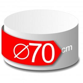 rond polystyrène diamètre 70 cm