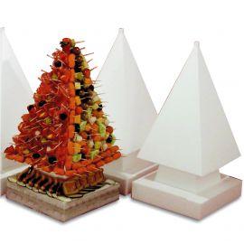 pyramide sur pied polystyrène hauteur 47 cm