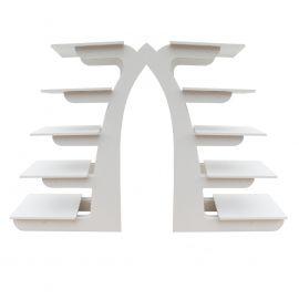 présentoir gateaux le perron en pvc pour grands gateaux rectangulaires