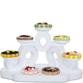 présentoir à gâteaux caligula en polystyrène