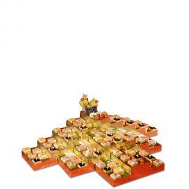 Présentoir décoration buffet gigogne en polystyrène haute densite