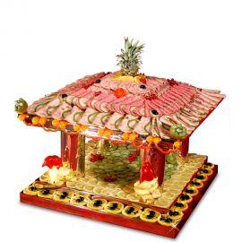 Présentoir décoration buffet temple