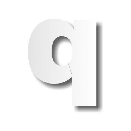 lettre polystyrène d minuscule