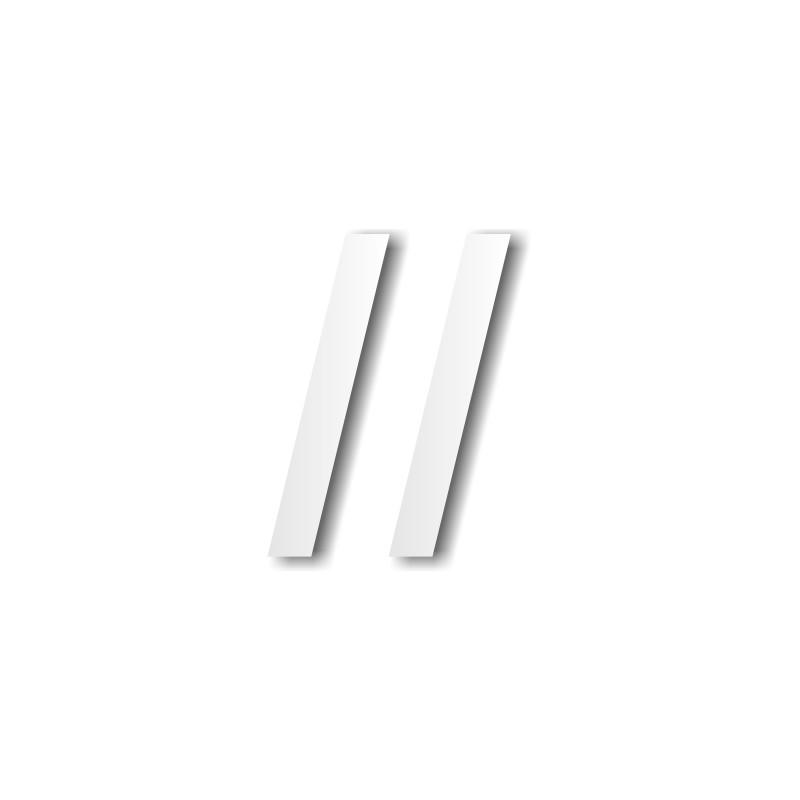 lettre polystyrène a minuscule