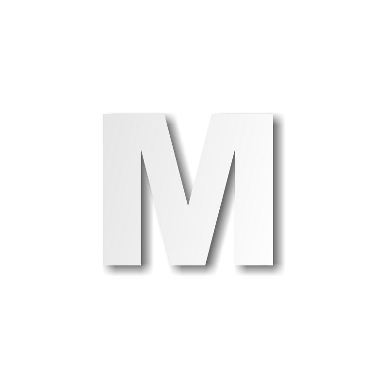 Lettre m majuscule d coration buffet - Lettre de l alphabet en majuscule a imprimer ...