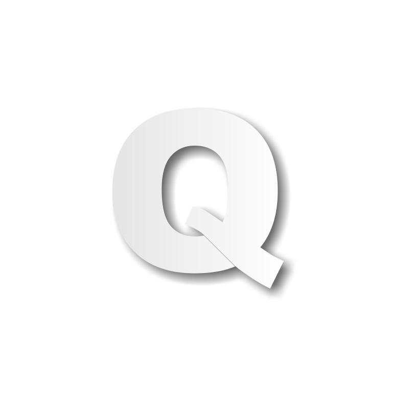 lettre q en majuscule lettre Q majuscule   Décoration buffet lettre q en majuscule