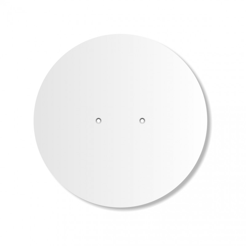 rond 1 attache centrée diamètre 26 cm épaisseur 10 mm