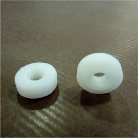 écrous moletés plastique blanc trou 6 mm lot de 20