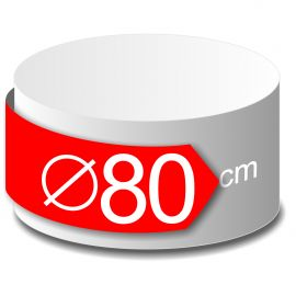 rond polystyrène diamètre 80cm