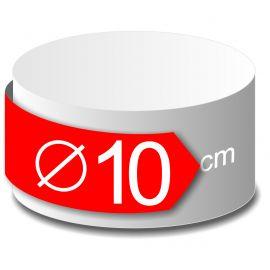 rond polystyrène diamètre 10 cm