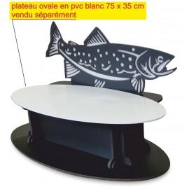 Présentoir pour saumon