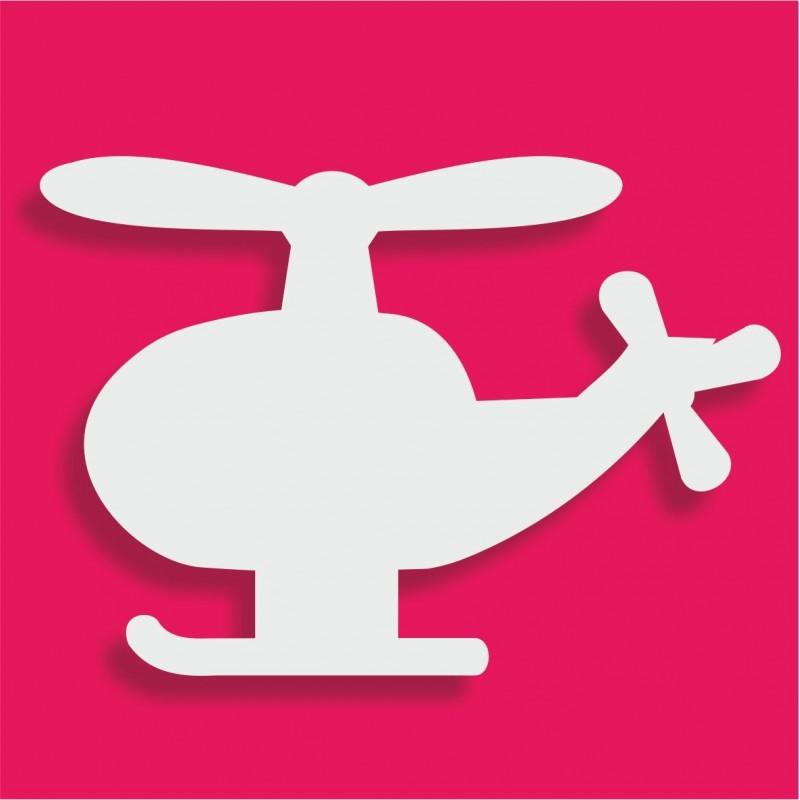 Présentoir gateau de bonbons en polystyrène hélicoptère