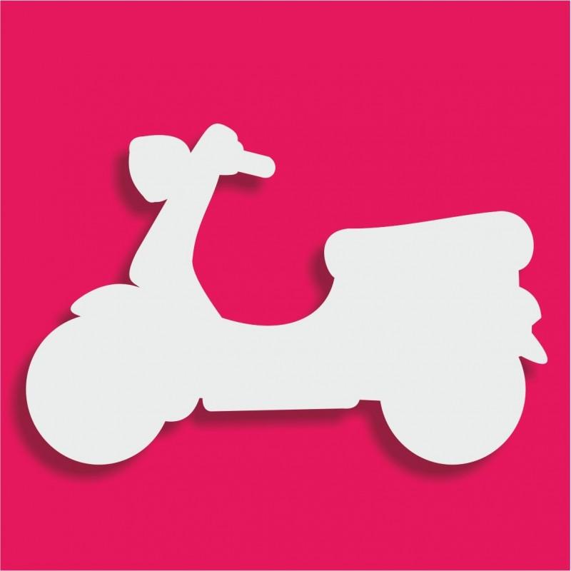 Support bonbons polystyrène scooter pour gateau bonbon