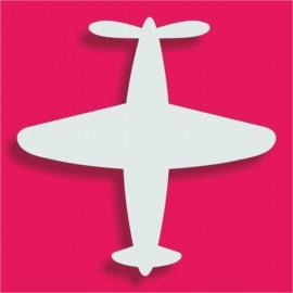 Présentoir gateau de bonbons en polystyrène avion