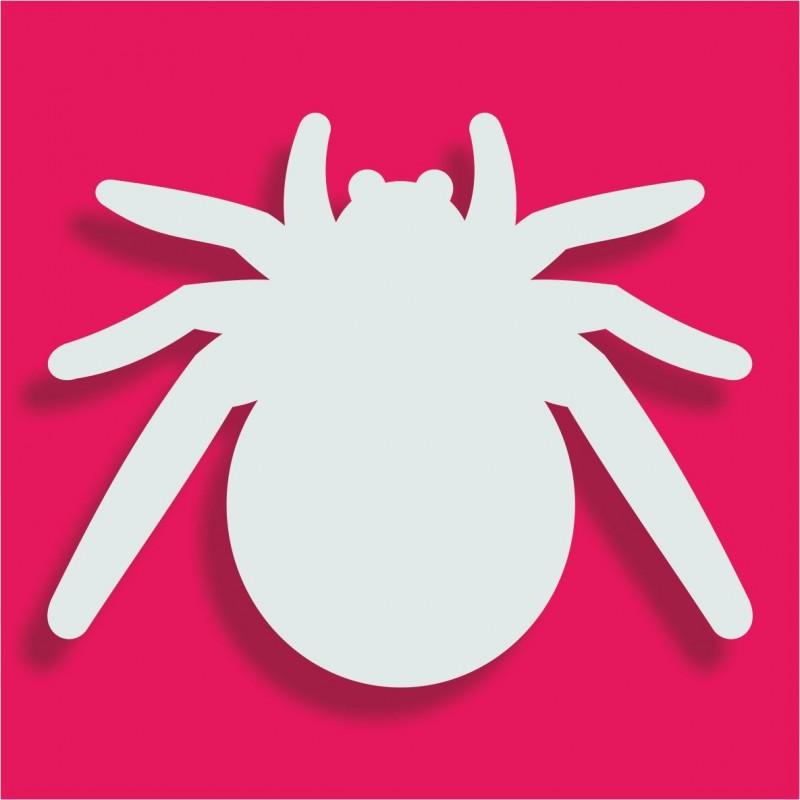 Présentoir gateau de bonbons en polystyrène araignée