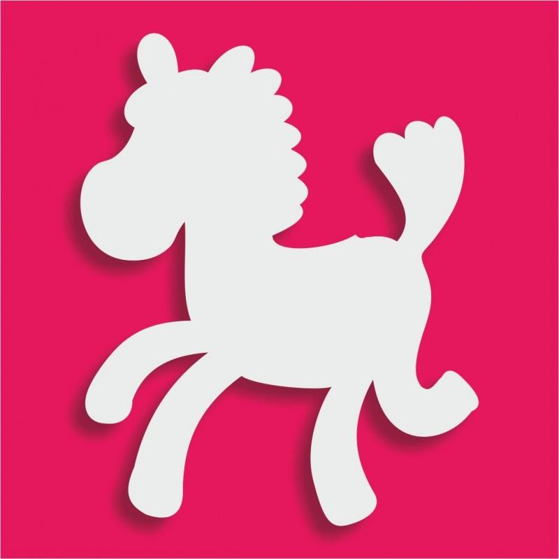 Présentoir gateau de bonbons en polystyrène cheval