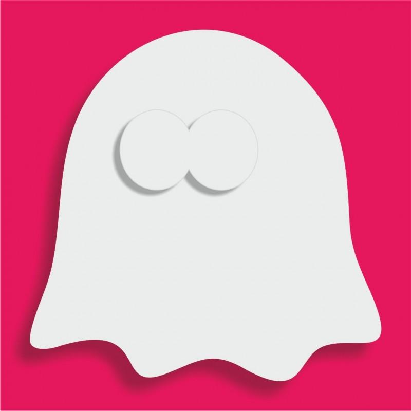 Présentoir gateau de bonbons en polystyrène fantôme sans bras