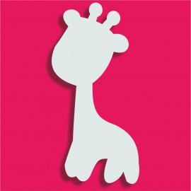 Présentoir gateau de bonbons en polystyrène girafe