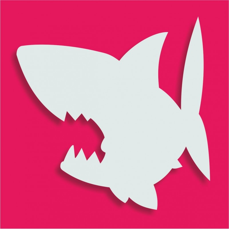 Présentoir gateau de bonbons en polystyrène requin