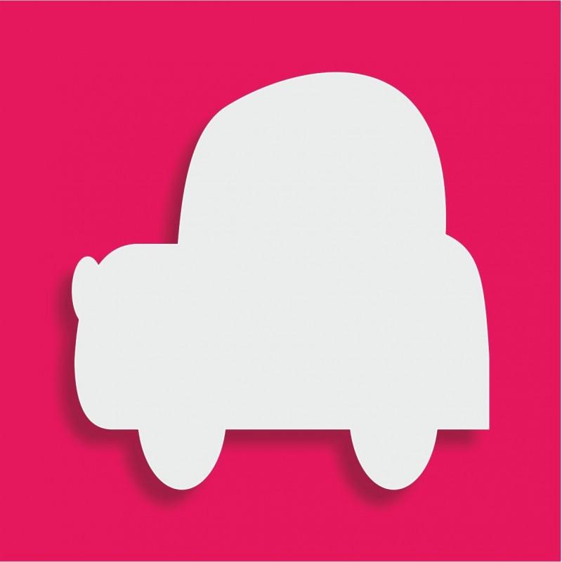 Présentoir gateau de bonbons en polystyrène voiture